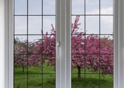 Double Glaze uPVC Sliding Window